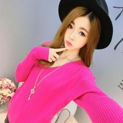 Fashion Women Long Sleeve V Neck Ca..