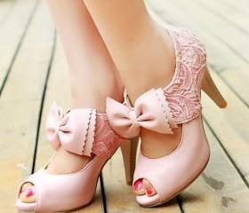 Fashion Lace Big Bow..