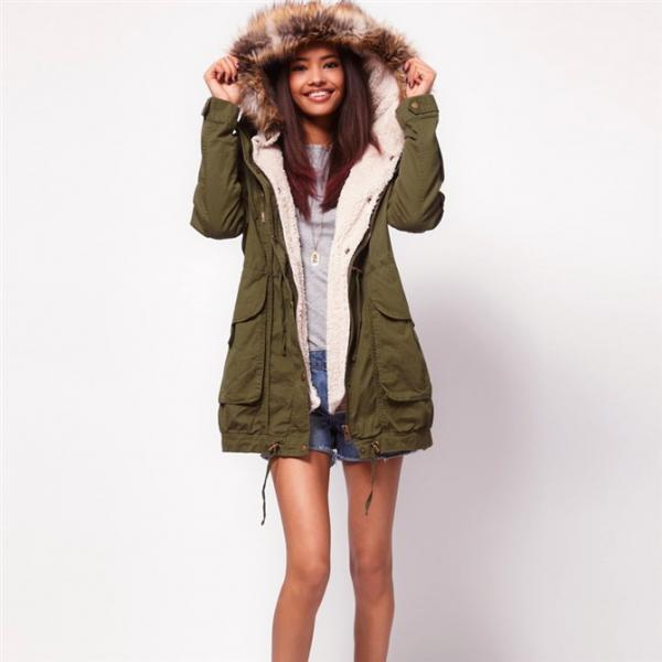 Hooded Cashmere Coat Jacket